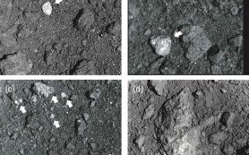 Горные породы с поверхности астероида Рюгу рассказывают о его «бурном прошлом»