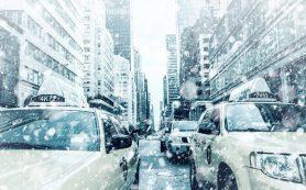 В США выпало 40 см снега всего через несколько дней после 38-градусной жары