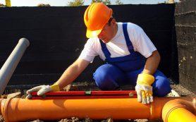 Устройство канализации на промышленных и общественных объектах