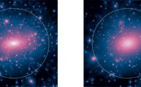 Разрешена загадка распределения темной материи в галактиках