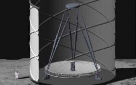 Лунный телескоп с жидким зеркалом будет наблюдать самые первые звезды Вселенной