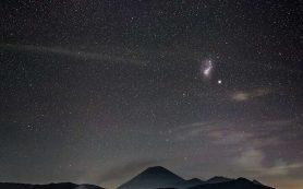 Столкновение с Большим Магеллановым Облаком исказило форму Млечного пути
