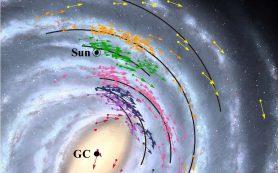 Земля быстрее движется и находится ближе к черной дыре на новой карте Галактики