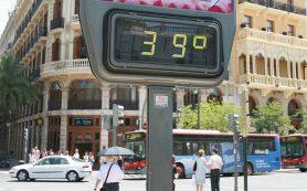 Где находятся самые жаркие места в Европе в разное время года?