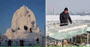 Ежегодный фестиваль ледяной скульптуры стартовал в Харбине