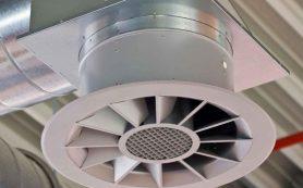 Установка вентилятора в вентиляционной системе дома