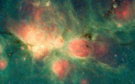 Выявлена сложная структура магнитного поля туманности Кошачья лапа
