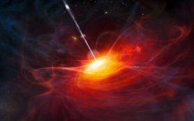 Свет со стороны далекого красного квазара рассказывает о его происхождении