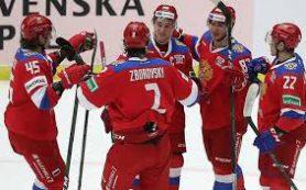 Команда Ларионова с победы стартовала на Шведских играх
