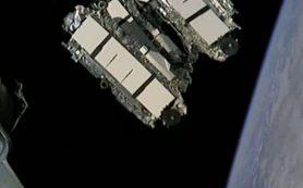 SpaceX запускает спутники Starlink, но посадить ступень не удается
