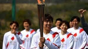 Эстафета олимпийского огня стартовала в Японии