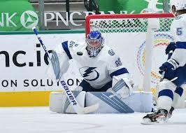 Василевский признан первой звездой матча в НХЛ