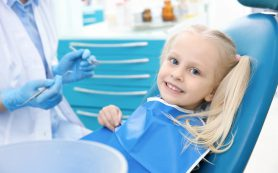 Ребенок и его первый поход к стоматологу