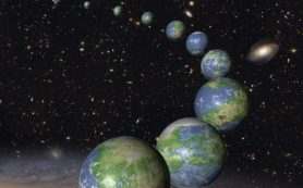 Млечный путь полон планет с океанами и континентами на поверхности