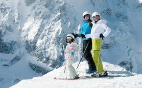 Зимний отдых в горах с детьми