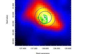 Гамма-излучение со стороны остатков сверхновой G272.2-3.2