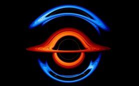 Новая визуализация от НАСА демонстрирует «танец» черных дыр, искажающий свет