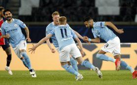 «Манчестер Сити» обыграл «ПСЖ» в первом матче полуфинала Лиги чемпионов