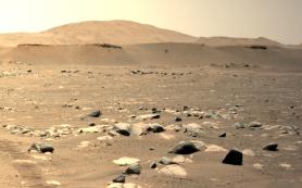 Третий по счету полет вертолета на Марсе — быстрее и дальше, чем прежде!