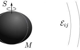 Вращающиеся черные дыры деформируются под действием гравитационного поля
