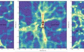 «Космическая паутина»: Карта темной материи открывает «мосты» между галактиками