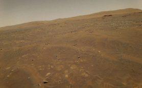 В результате ошибки системы навигации марсианский вертолет оказался в опасности