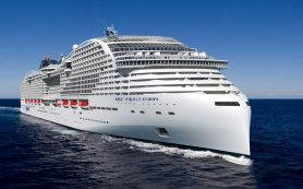 Что известно о новейшем 22-палубном круизном лайнере компании MSC Cruises?