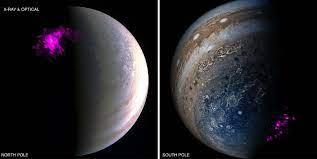Разрешена давняя загадка рентгеновских полярных сияний на Юпитере