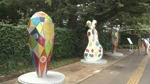 В Токио открыли скульптуры в память о землетрясении 2011 года
