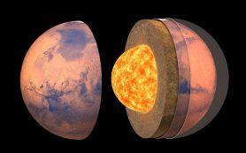 Миссия InSight позволила установить внутреннюю структуру Марса