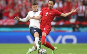Сборная Англии в дополнительное время обыграла Данию, благодаря голу Харри Кейна