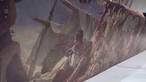 Специалисты отреставрировали 14-метровое полотно Джованни Баттисты Тьеполо «Наказание змеями»