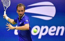 Медведев вышел во второй круг Открытого чемпионата США по теннису
