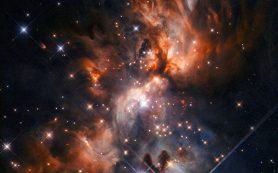 «Хаббл» всматривается в пыльную «звездную колыбель»