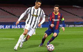Месси и Роналду не вошли в топ-3 лучших игроков по версии УЕФА