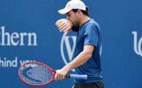 Карацев проиграл Чиличу в первом круге теннисного турнира в Цинциннати
