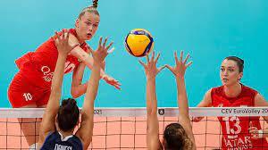 Женская сборная России проиграла Италии в 1/4 финала ЧЕ по волейболу