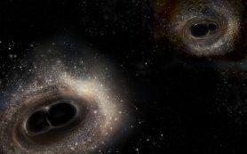 Открыт новый способ обнаружить сливающиеся Черные дыры