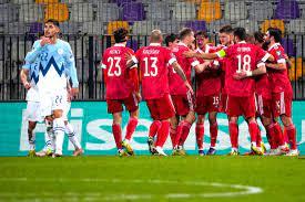 Сборная России вышла на первое место в группе, опередив Хорватию