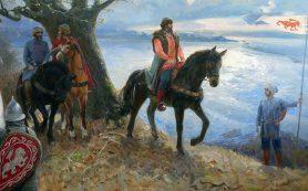Нижегородец написал картину, посвященную основателю Нижнего Новгорода